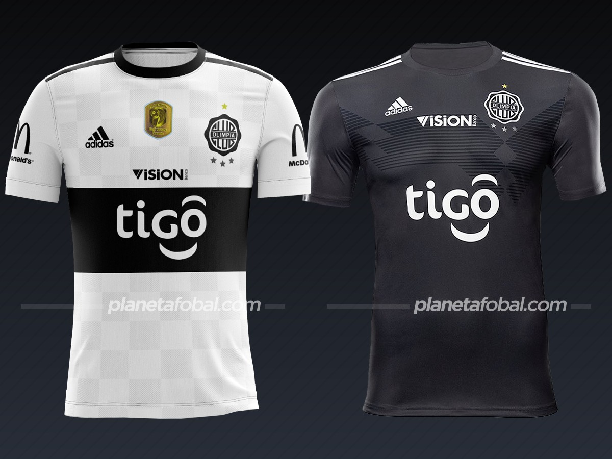Olimpia (Adidas) | Camisetas de la Copa Libertadores 2020