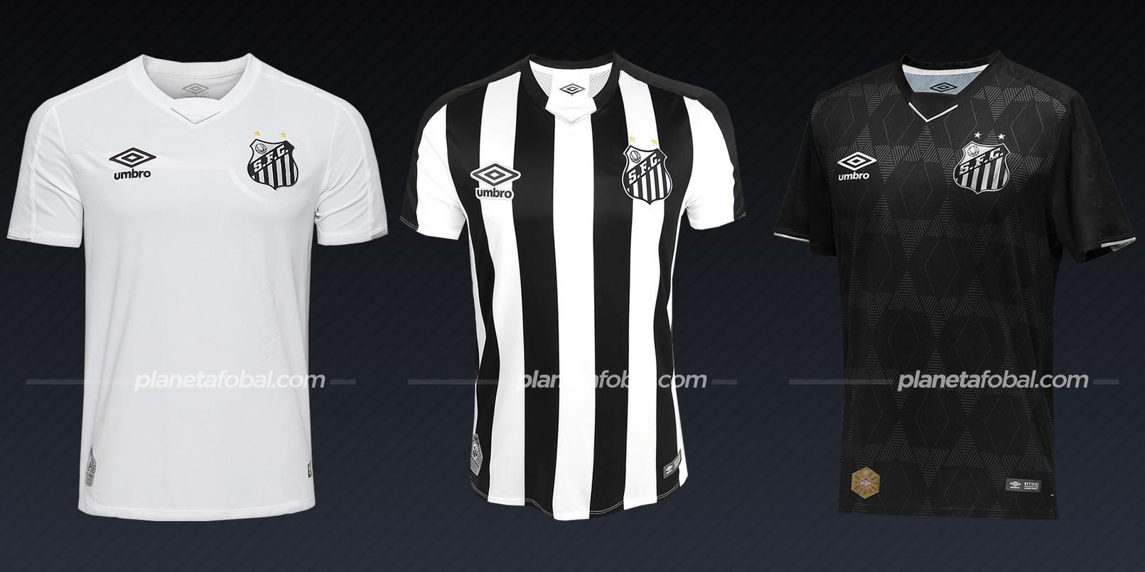 Santos (Umbro) | Camisetas de la Copa Libertadores 2020
