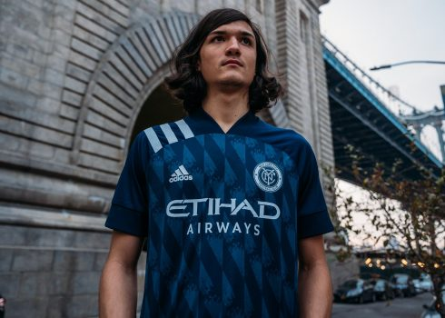 Maillot de remplacement Adidas New York City 2020/21 | Image du site officiel