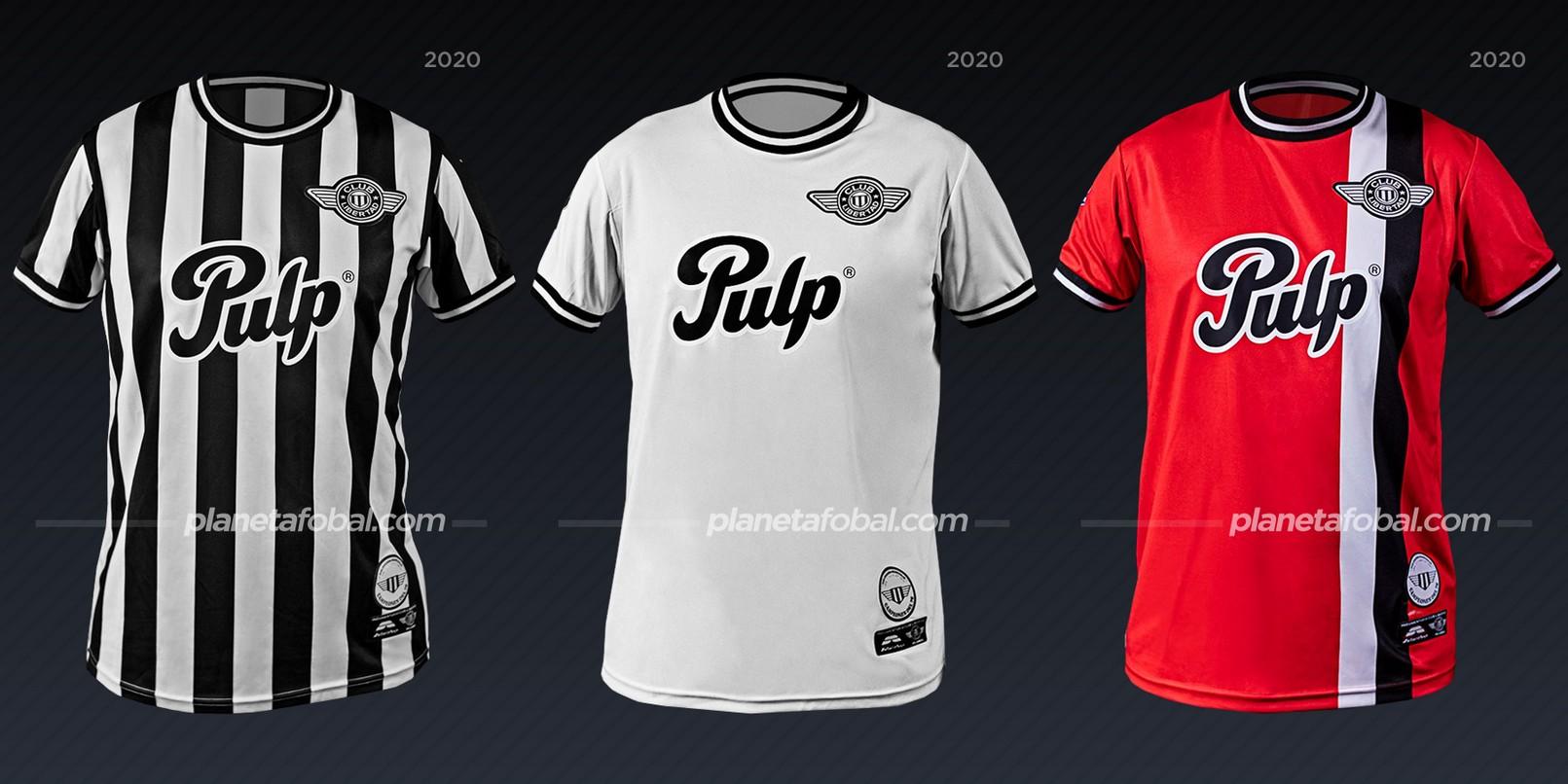 Libertad (Saltarín Rojo) | Camisetas de la Copa Libertadores 2020