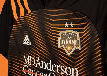 Camiseta suplente Adidas del Houston Dynamo 2020/21 | Imagen Web Oficial