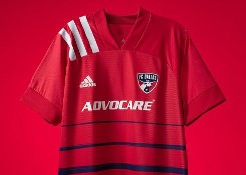 Camiseta Adidas del FC Dallas 2020/21 | Imagen Web Oficial