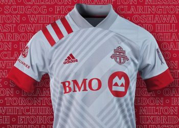 Camiseta suplente Adidas del Toronto FC 2020/21 | Imagen Twitter Oficial
