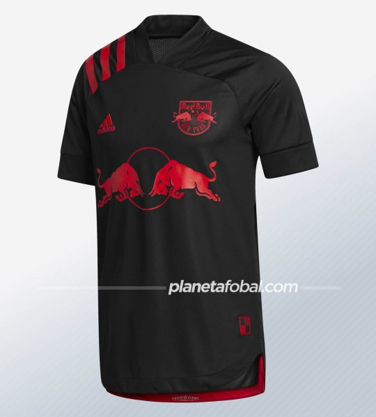 Camiseta negra del New York Red Bulls 2020/21 | Imagen Adidas