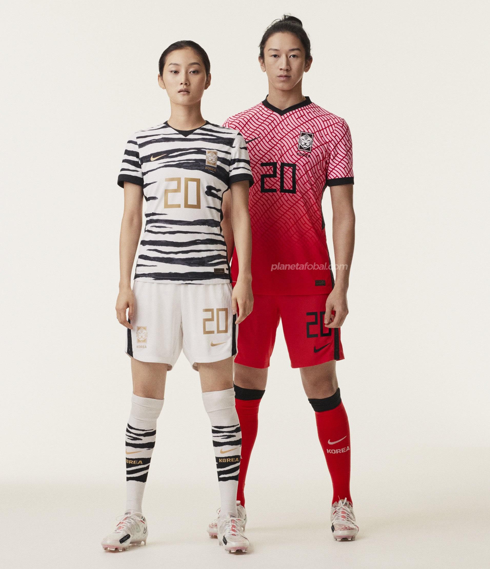 Nuevas camisetas de Corea del Sur 2020/2021 | Imagen Nike