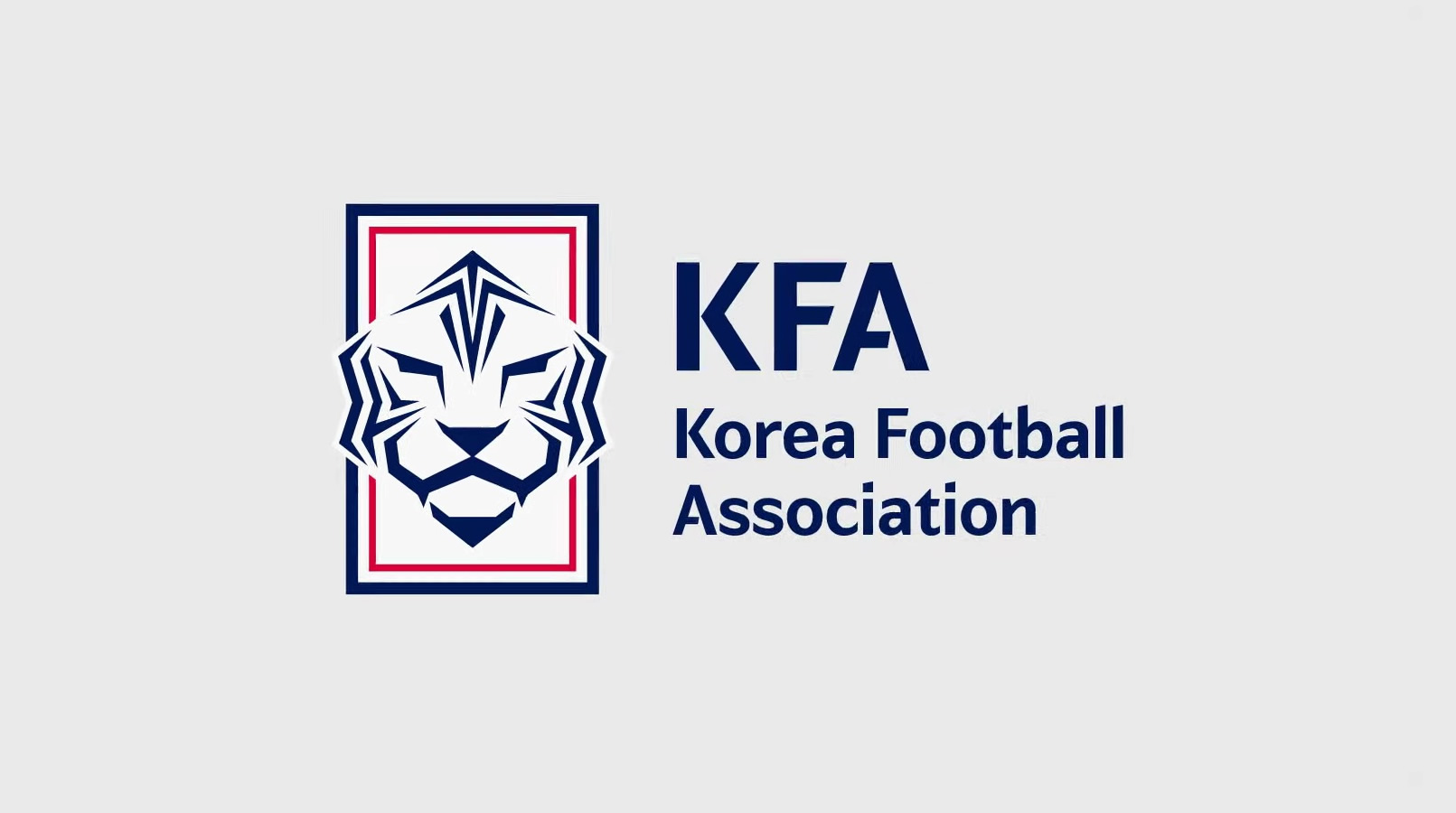 Nueva identidad de la federación de Corea del Sur | Imagen KFA