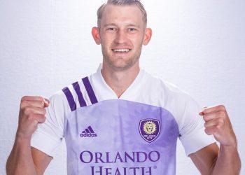 Camiseta suplente Adidas del Orlando City 2020/21   Imagen Web Oficial