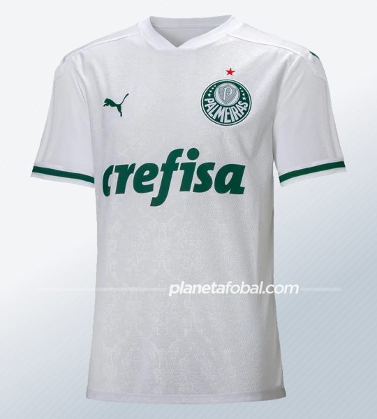 Camiseta suplente Puma del Palmeiras 2020 | Imagen Web Oficial