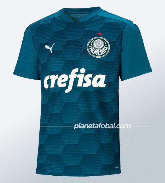 Camiseta de arquero Puma del Palmeiras 2020 | Imagen Web Oficial