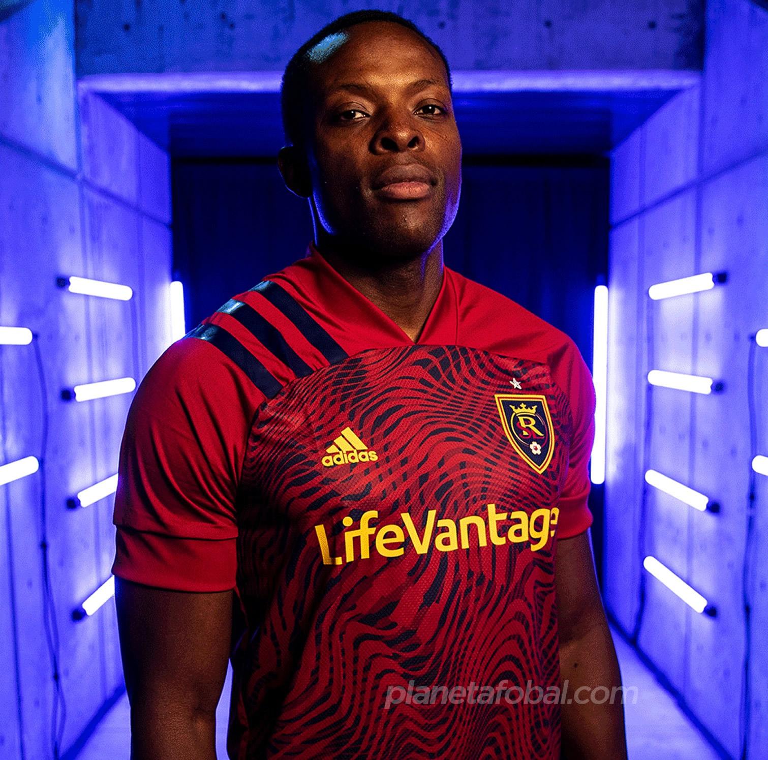 Camiseta titular Adidas del Real Salt Lake 2020/21 | Imagen Web Oficial