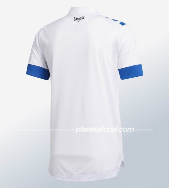 Camiseta suplente del San Jose Earthquakes 2020/21   Imagen Adidas