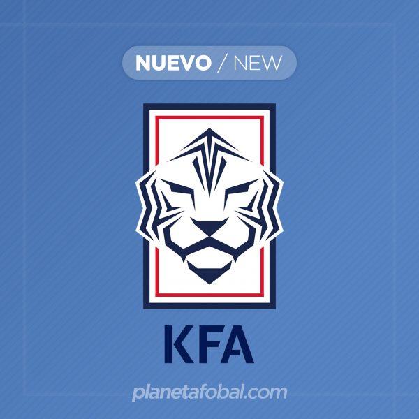 Nuevo logo oficial de la Asociación de Fútbol de Corea del Sur | Imagen KFA