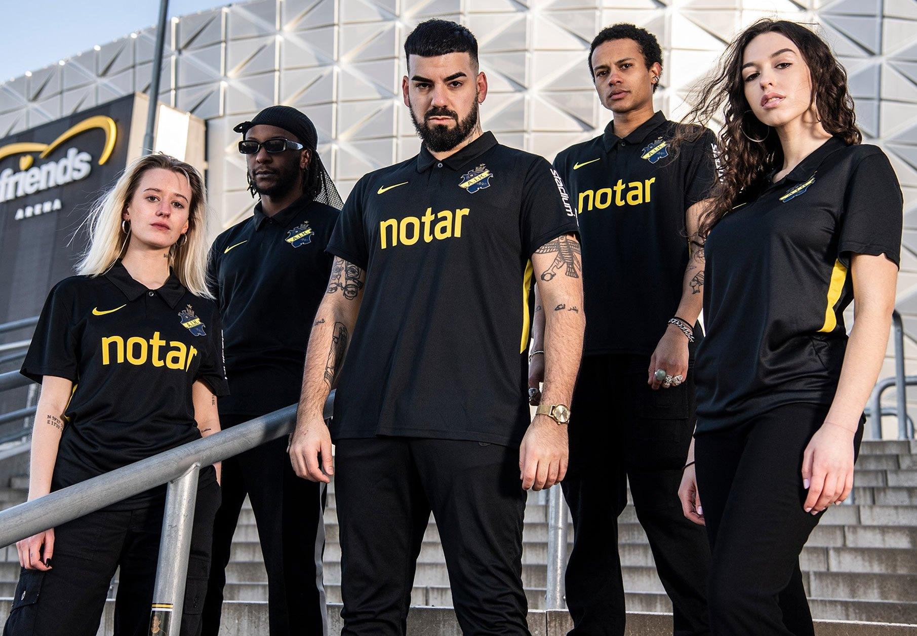 Camiseta Nike del AIK Fotboll 2020 | Imagen Web Oficial