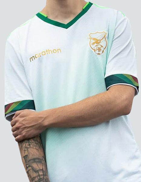 Camiseta alternativa Marathon de Bolivia Copa América 2020 | Imagen Facebook Oficial