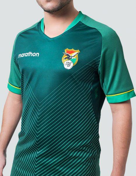 Camiseta titular Marathon de Bolivia Copa América 2020 | Imagen Facebook Oficial