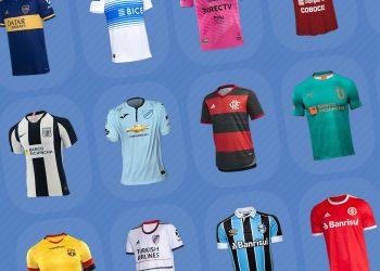 Camisetas de la Copa Libertadores 2020