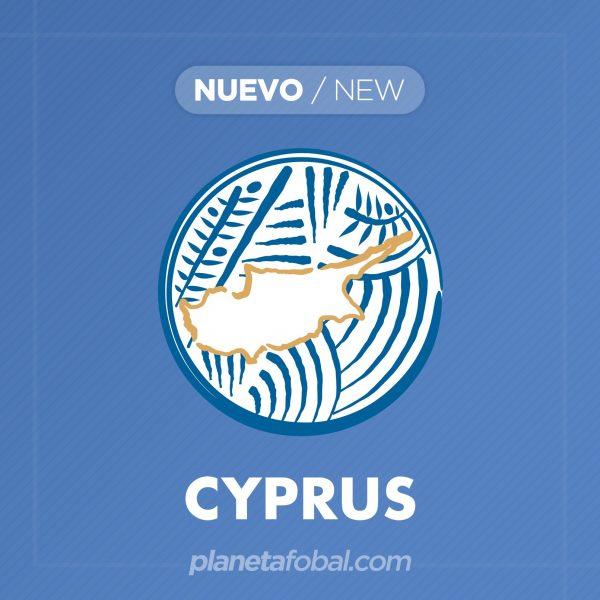 Nuevo escudo de la selección de Chipre | Imagen CFA