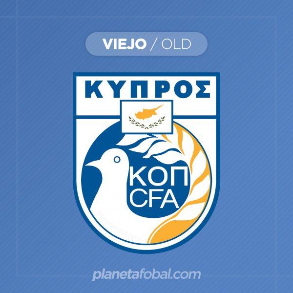 Viejo escudo de la selecciónde Chipre | Imagen CFA