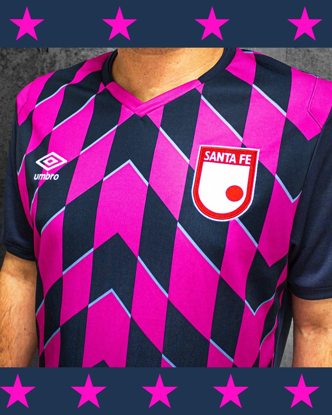 Tercera camiseta Umbro de Independiente Santa Fe 2020 | Imagen Twitter Oficial