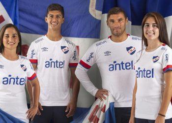 Camiseta Umbro de Nacional 2020 | Imagen Instagram Oficial