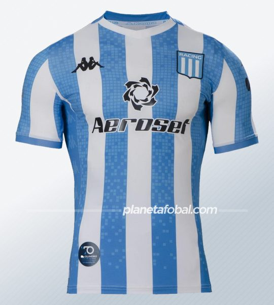 Camiseta titular Kappa de Racing 2020 | Imagen Web Oficial