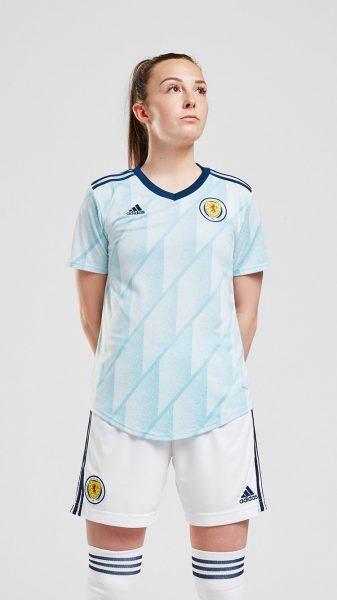 Camiseta suplente Adidas de Escocia 2020/21 | Imagen Scottish FA