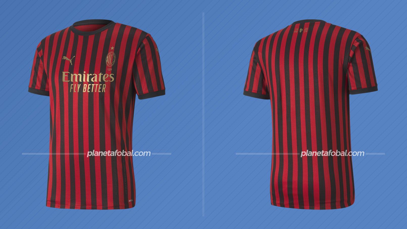 Camiseta 120 aniversario del Milan (Italia) / Puma