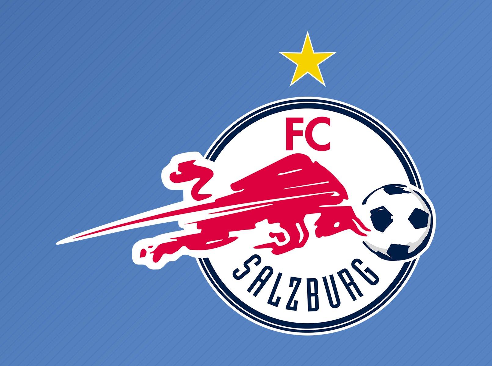 Escudo alternativo del Salzburg para las competiciones europeas