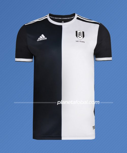 Camiseta 140 aniversario del Fulham (Inglaterra) / Adidas