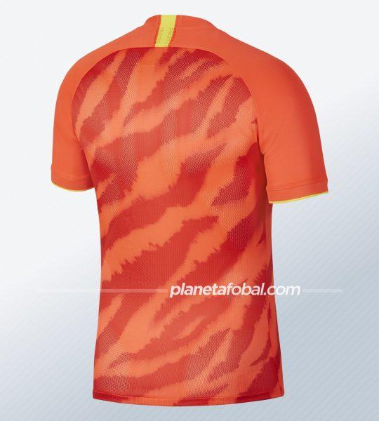 Camiseta titular del Guangzhou Evergrande 2020   Imagen Nike