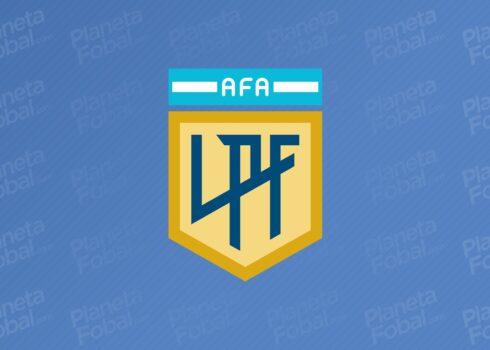 Logo oficial de la Liga Profesional de Fútbol Argentino   Imagen Twitter Oficial