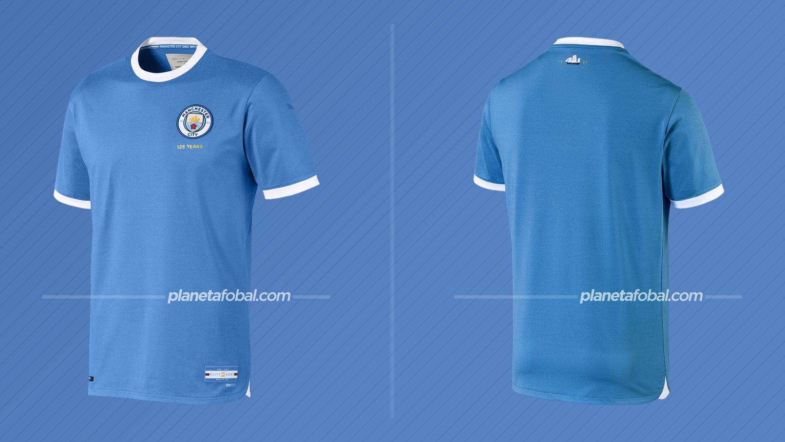 Camiseta 125 aniversario del Manchester City / Puma
