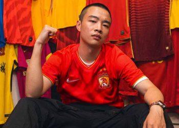 Camisetas titular del Guangzhou Evergrande 2020 | Imagen Nike