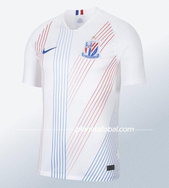 Camiseta suplente del Shanghái Shenhua 2020 | Imagen Nike