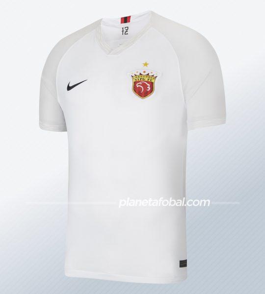 Camiseta suplente del Shanghái SIPG 2020 | Imagen Nike