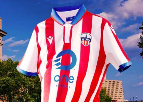 Camiseta Macron del Atlético Ottawa 2020 | Imagen Twitter Oficial