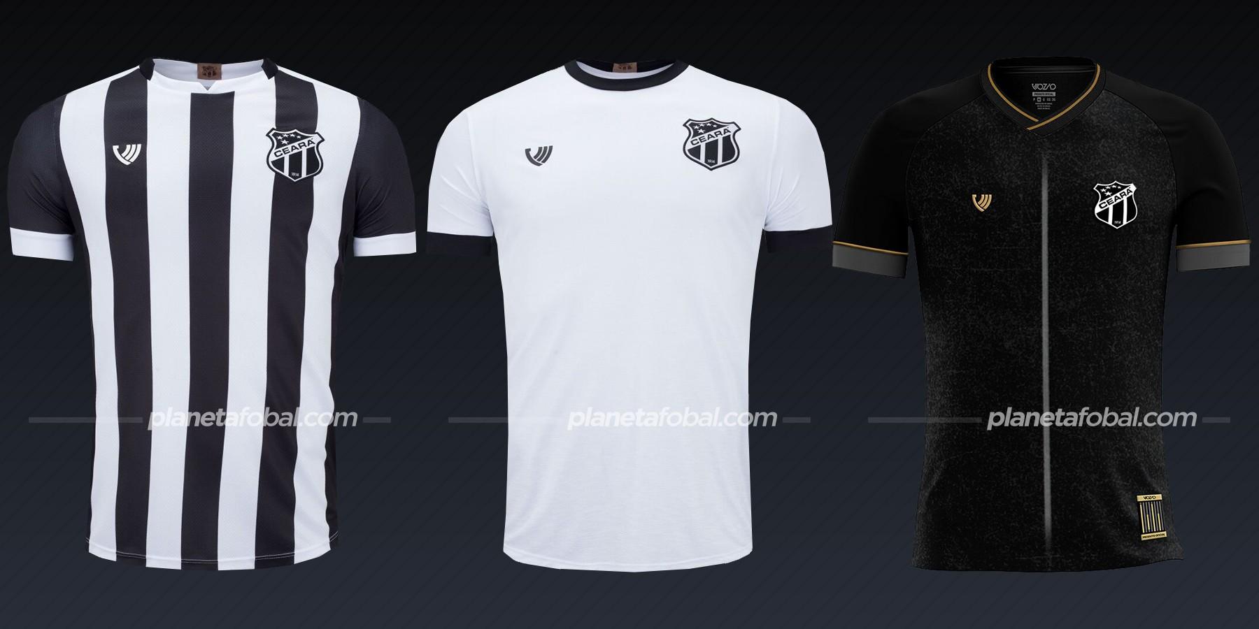 Ceará SC (Vozão) | Camisetas del Brasileirão 2020