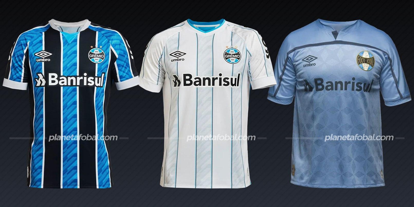 Grêmio (Umbro) | Camisetas del Brasileirão 2020