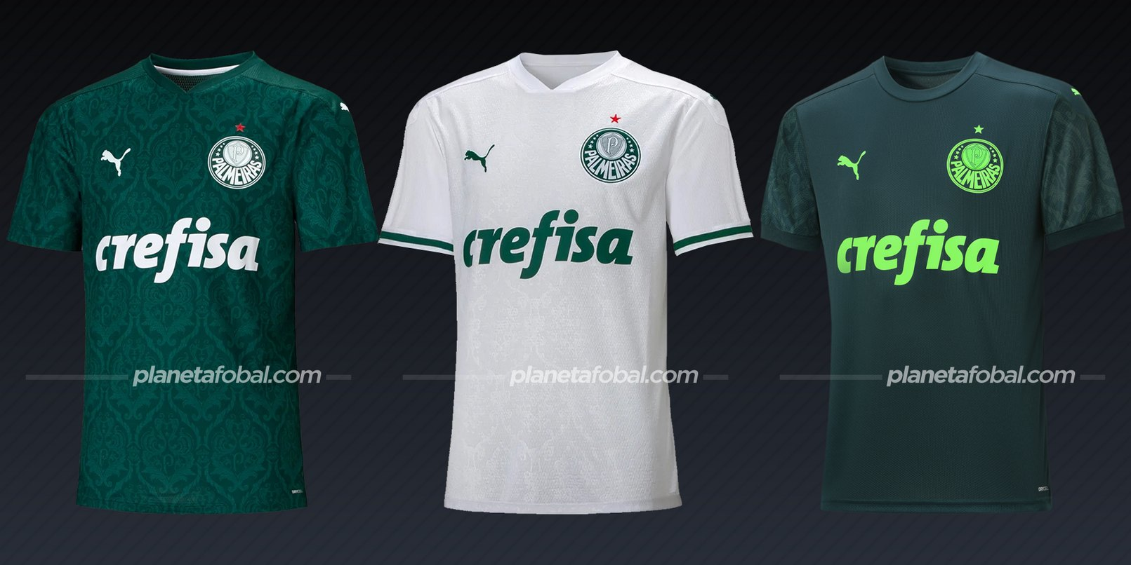 Palmeiras (Puma) | Camisetas del Brasileirão 2020