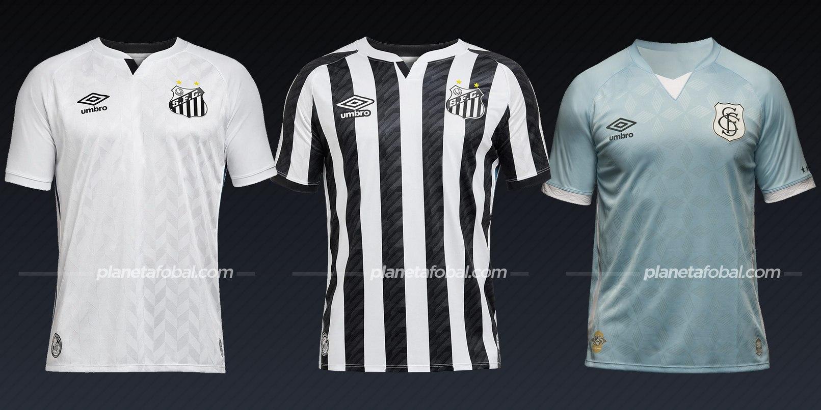 Santos (Umbro) | Camisetas del Brasileirão 2020