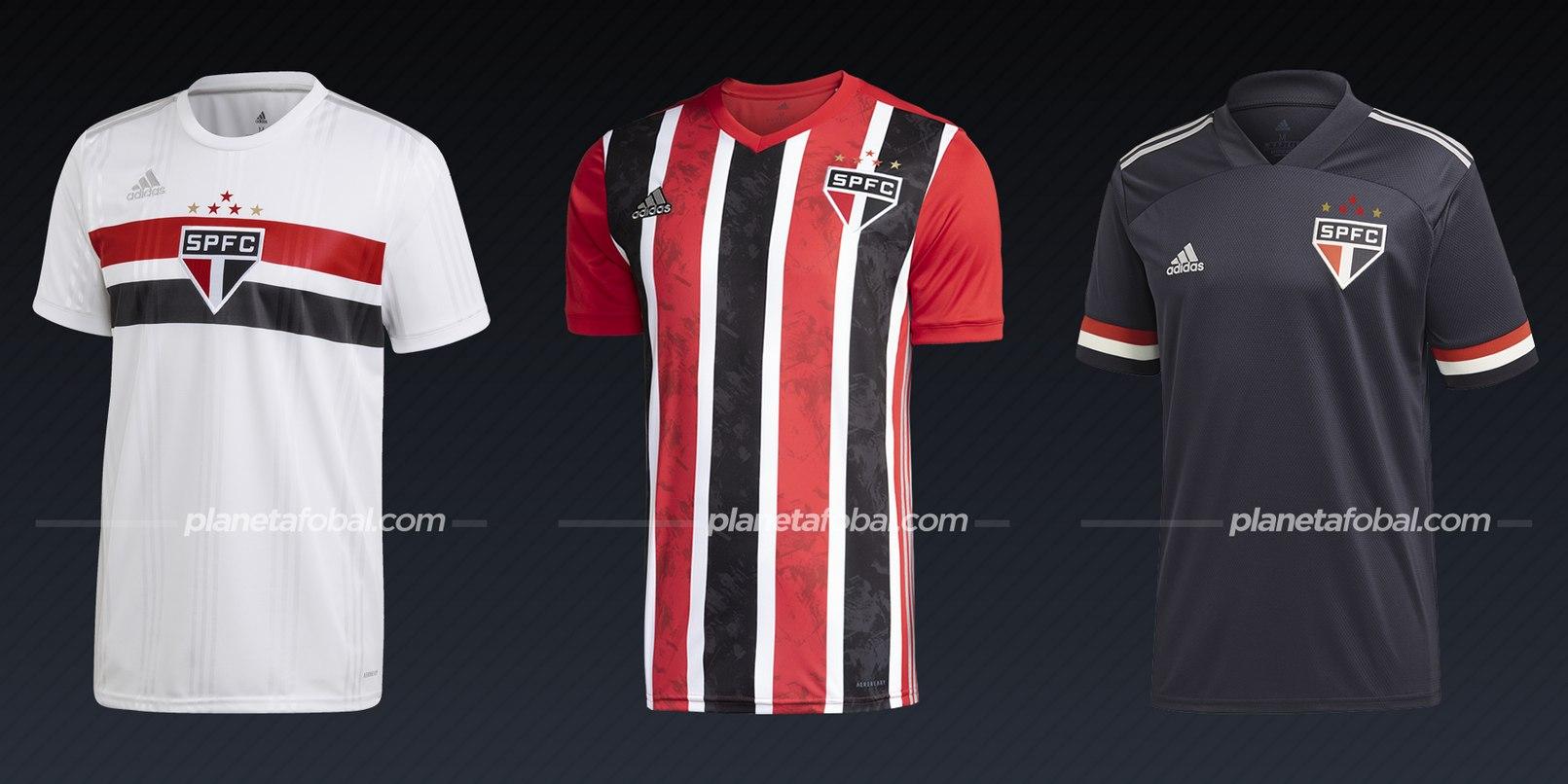 São Paulo (Adidas) | Camisetas del Brasileirão 2020