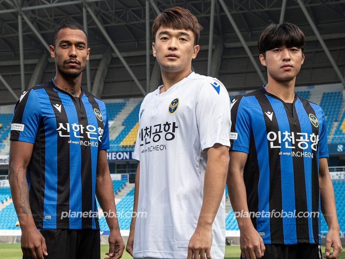 Camisetas 2020 del Incheon United (Macron)