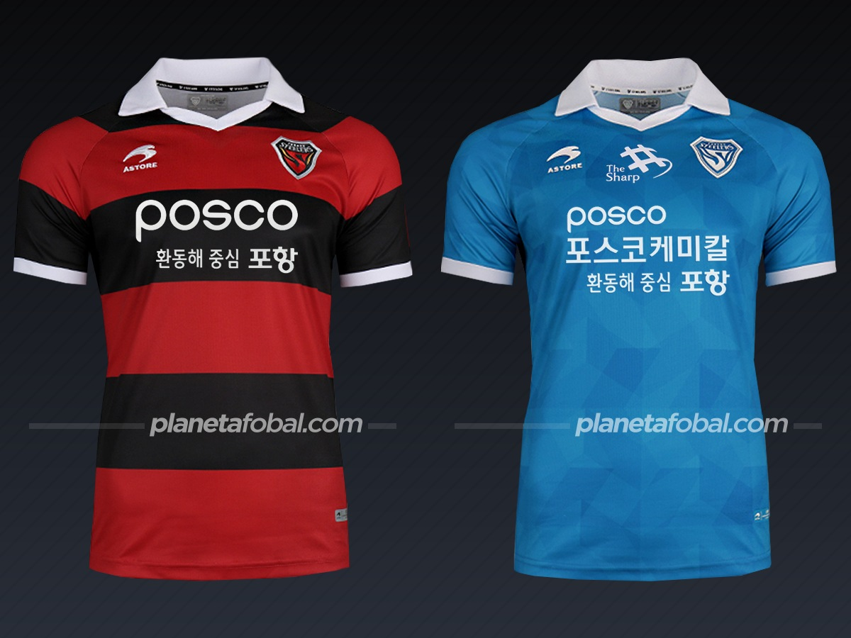 Camisetas 2020 del Pohang Steelers (Astore)