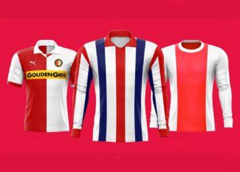 Las tres camisetas más lindas del fútbol neerlandés | Imagen Eredivisie