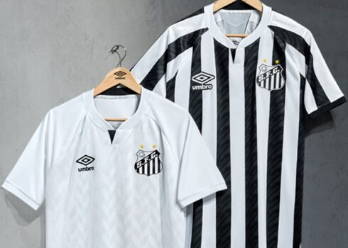 Camisetas Umbro del Santos 2020/2021 | Imagen Twitter Oficial