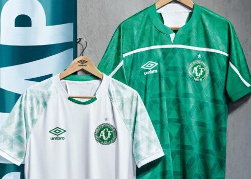 Camisetas del Chapecoense 2020/21 | Imagen Umbro