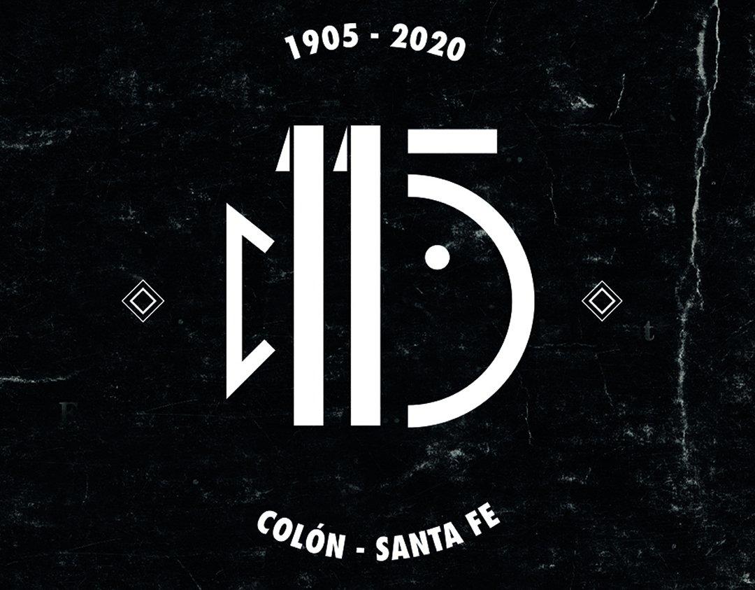 El logo por el 115 Aniversario de Colón de Santa Fe | Imagen Instagram Oficial