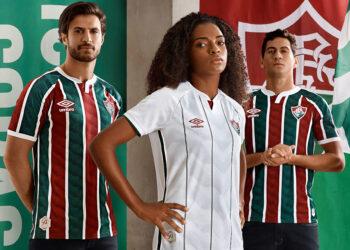Camisetas 2020/2021 del Fluminense | Imagen Umbro