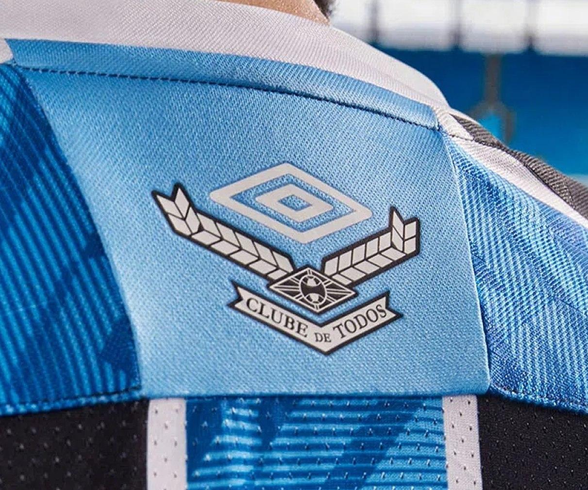Camiseta titular del Grêmio 2020/21 | Imagen Umbro