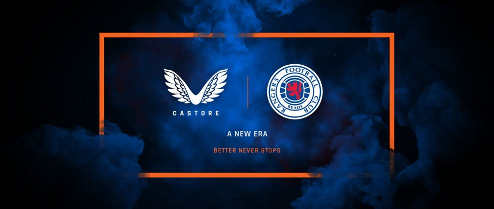 Rangers FC anuncia contrato con Castore | Imagen Twitter Oficial